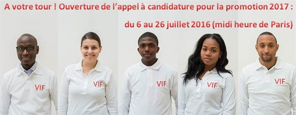 Appel à candidature : Volontariat international de la Francophonie 2017